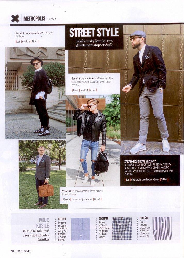 Formen - září 2017, outfit s bekovkou