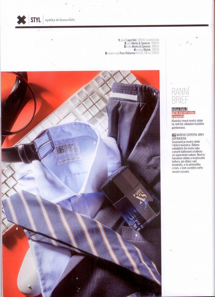 Formen - září 2017, pásek Lagerfeld