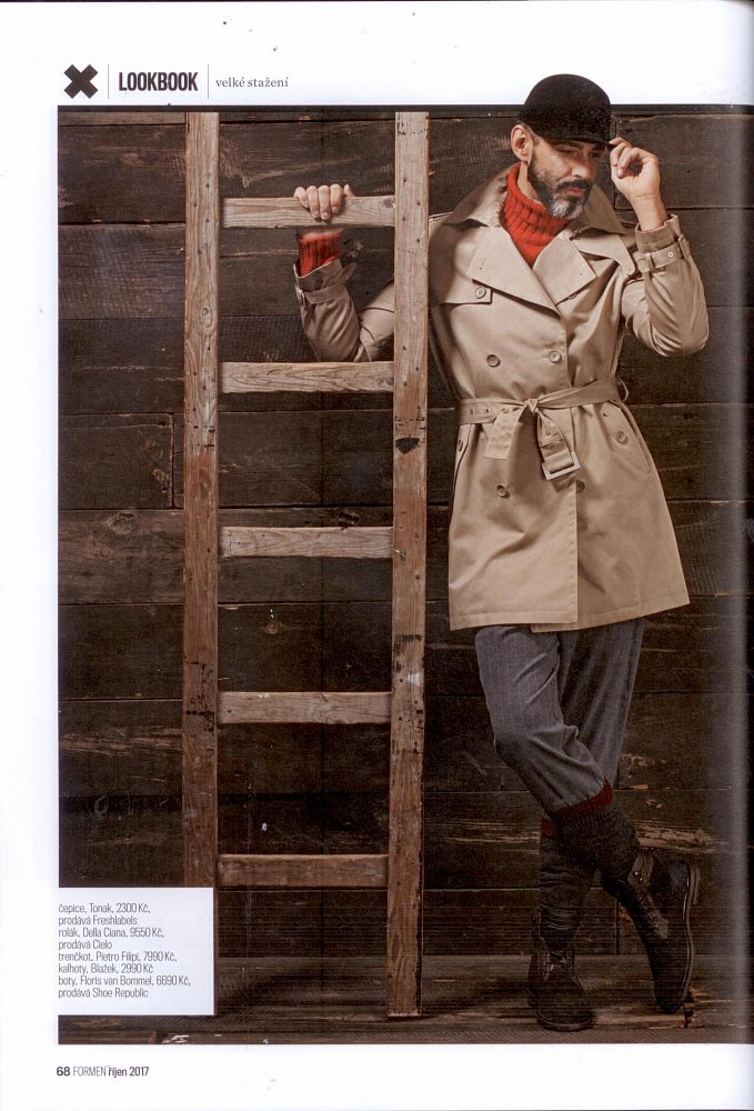 Formen - Fashion bible - říjen 2017 (svetr Della Ciana)