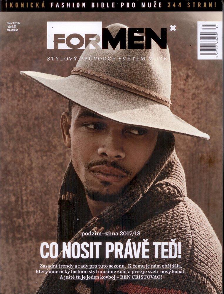Formen - Fashion bible, říjen 2017 - titulní strana