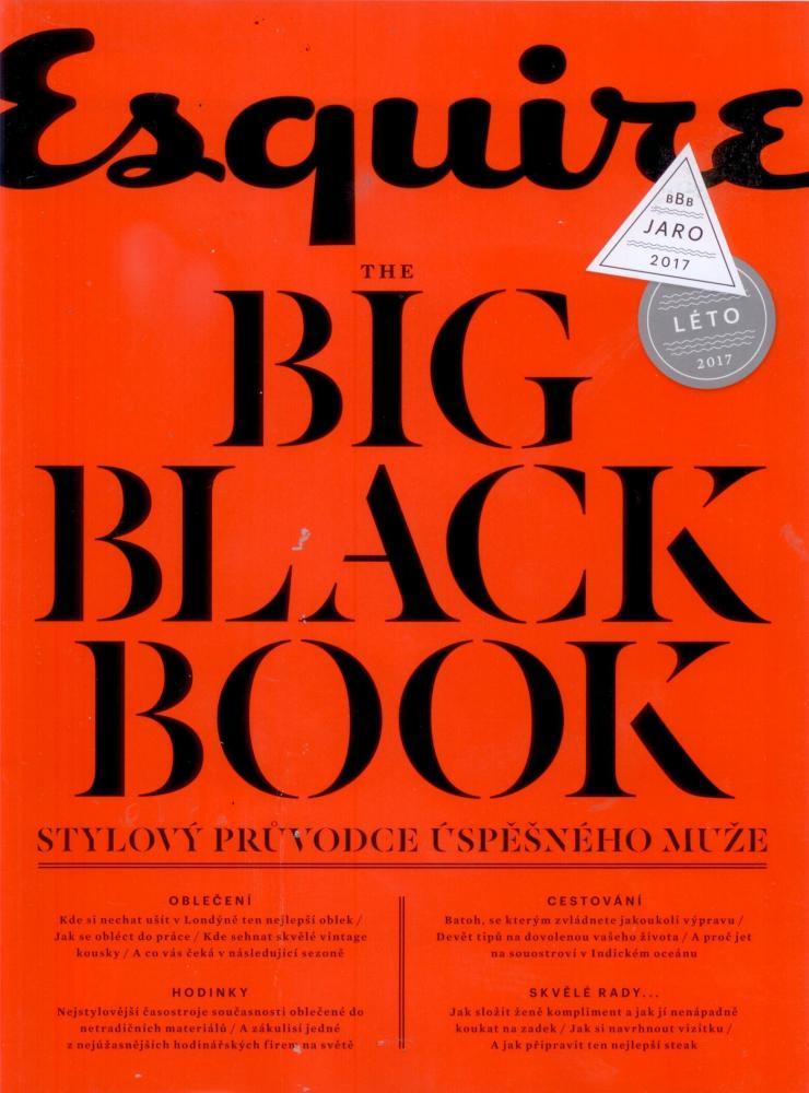 BigBlackBook - duben 2017, titulní strana