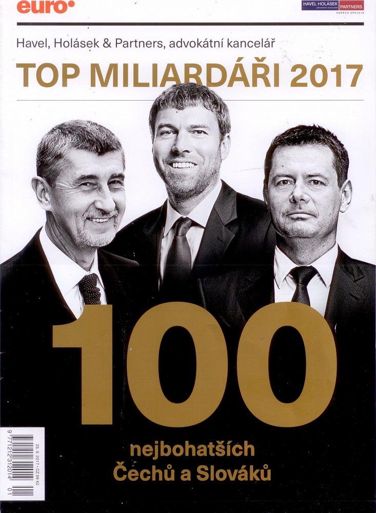 Euro - Top miliardáři, titulní strana