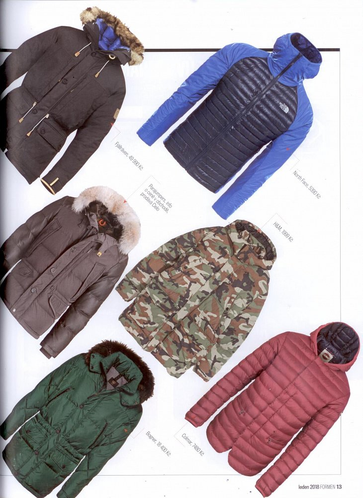 Formen - January 2018, jacket Parajumpers