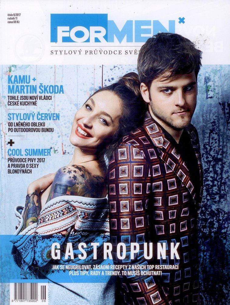 Formen - červen 2017, titulní strana