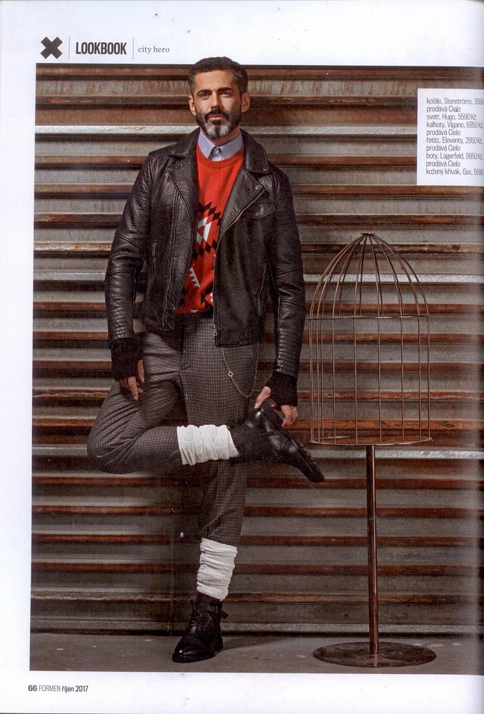 Formen - Fashion Bible - October 2017 (shirt Stenströms, trousers Vigano, shoes Lagerfeld)