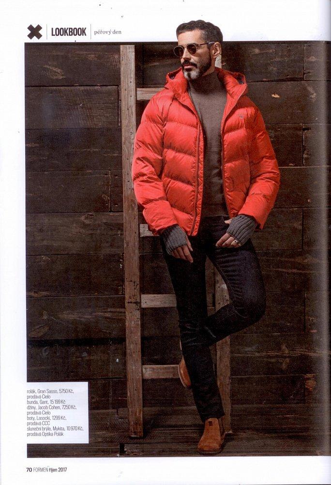 Formen - Fashion Bible, October 2017 (sweater Gran Sasso, trousers Jacob Cohen)