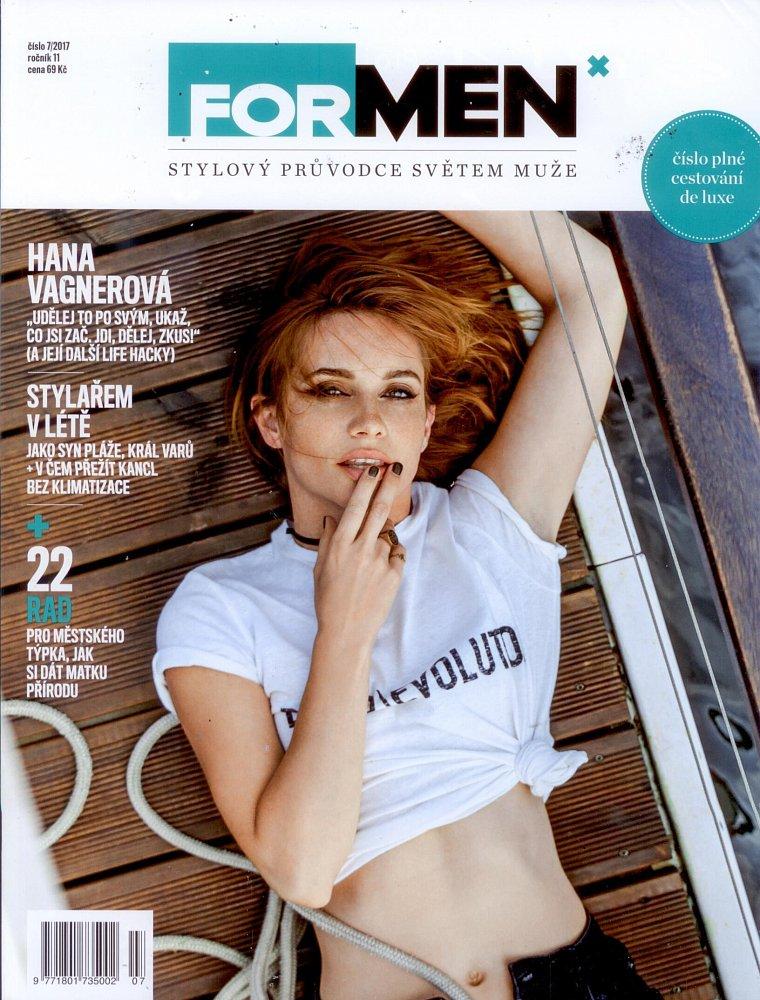 Formen - červenec 2017, titulní strana