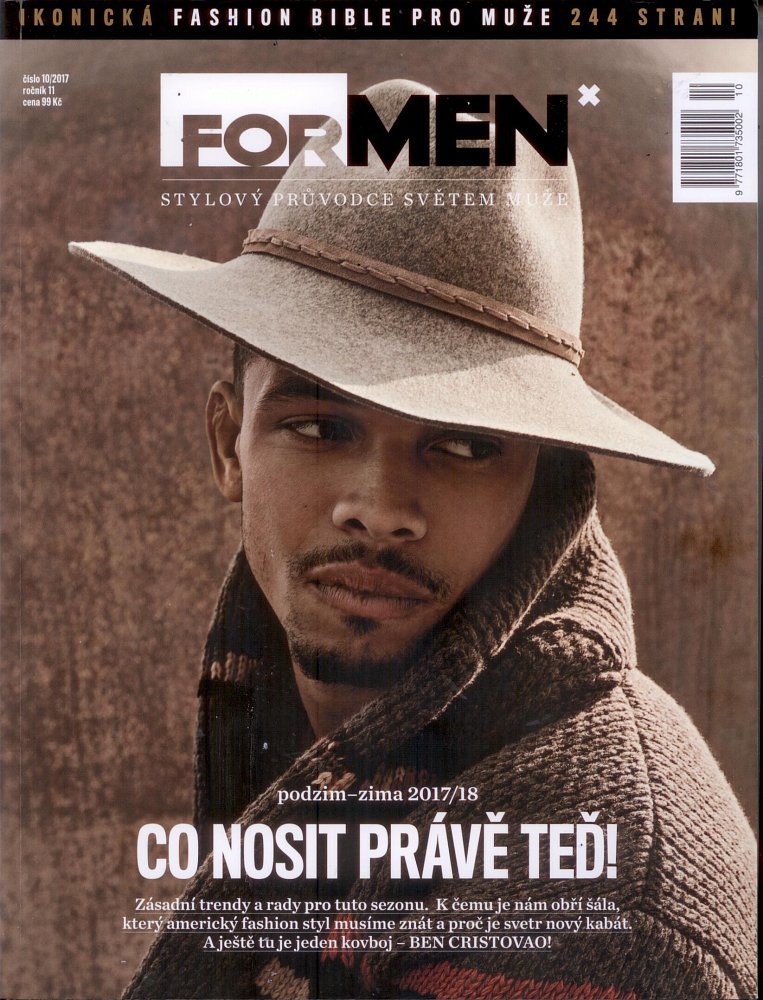 Formen - Fashion Bible, October 2017 - front page