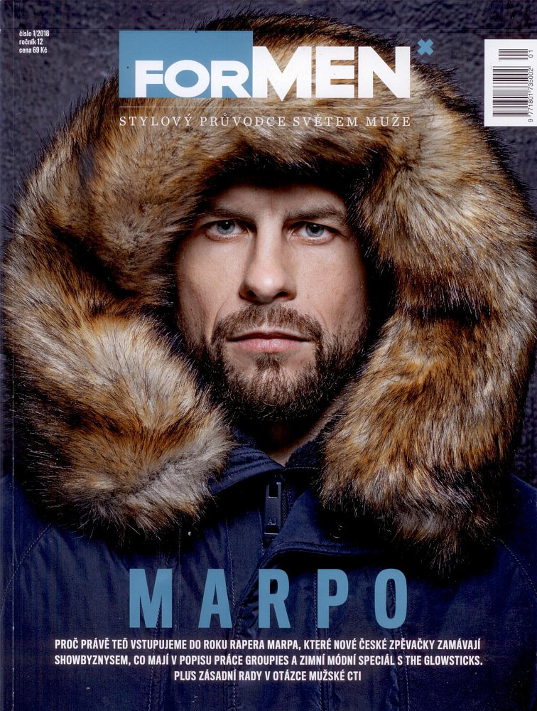Formen - January 2018, front page